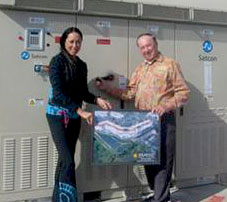 Aileen is going green-Solar-Electricity System at San Clemente Villas