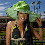 Aileen At Del Mar Racetrack Opening Day 2012