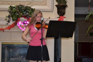 Music programs at Aileen Brazeua's San Clemente Villas