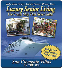 San Clemente Villas Assisted Living and Memory Care, San Clemente CA
