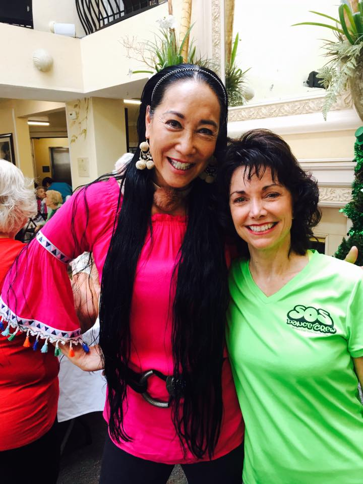 entertainment and fitness at the San Clemente Villas, Aileen Brazeau co-owner of the san clemente Villas