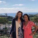 Aileen Brazeau with DNA Couture Co Owner, San Clemente, Dana Point, Fashiohs show